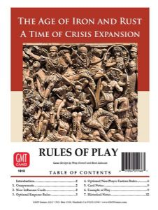 Time of Crisis: The Age of Iron and Rust Expansion